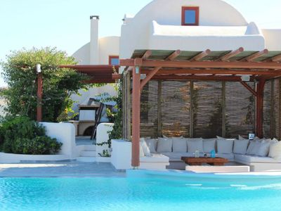 Photo for Vacation home Aquaria Villa  in Fira, Cyclades - 10 persons, 6 bedrooms
