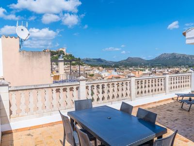 Photo for Townhouse for 6 people directly in Arta in Mallorca with communal pool and roof terrace