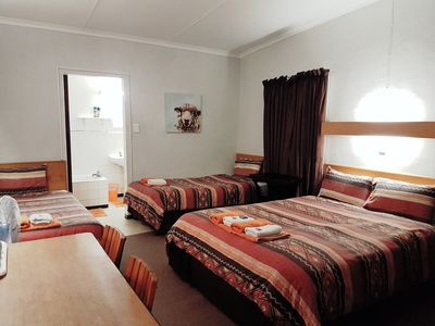 Photo for 3 single beds, 1 double bed, Bath, DSTV Room 10