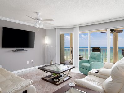 Photo for 7th Floor View of the Gulf! Walk Down & Take In the Sand Between Your Toes!
