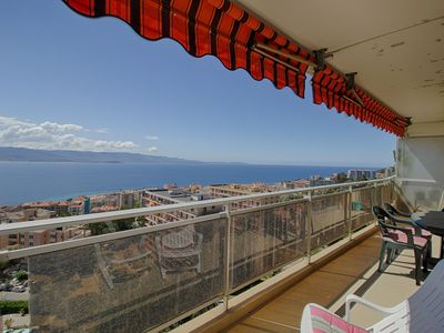Photo for AJACCIO - Beautiful apartment facing the sea in the center- F3- AIGLON 2