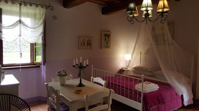 "Photo for Farmhouse with swimming pool and whirlpool for holidays in Umbria: ""Wisteria House"""