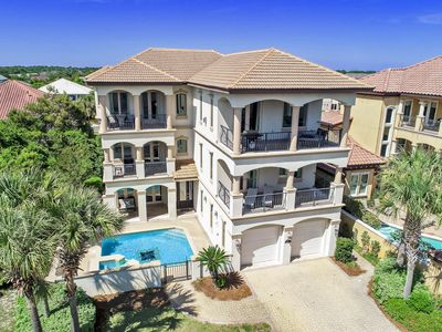 Photo for Chateau Lumiere | NEW LUXURY RENTAL | Pool | Game Room | Beach Views | Hot Tub