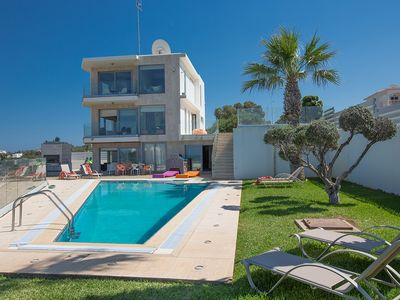 Photo for Villa Blue, Stunning 6BDR Protaras Villa with Pool, and Stunning Sea Views