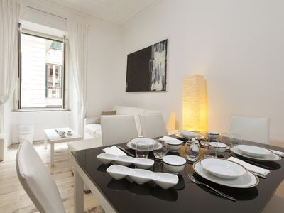 Photo for LOVELY APT (90 m2) CLOSE TO THE RIVER PLACE TERMS STATION VIA VENETO BORGHESE PARK
