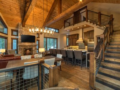 Photo for Stunning Modern Mountain Home with Sauna, Hot Tub, Theater and Ski Access