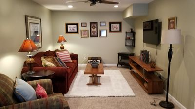Photo for Quiet, Private,  basement apartment, newly designed, with all comforts of home