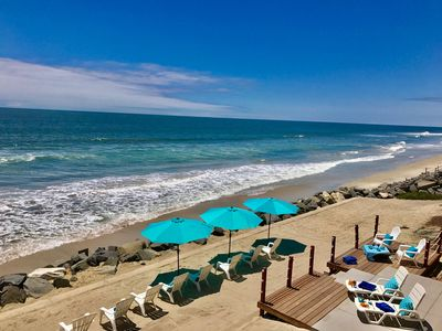 Photo for PRIVATE FAMILY OCEANFRONT ESTATE with a HUGE Private Sandy Backyard,  New A/C