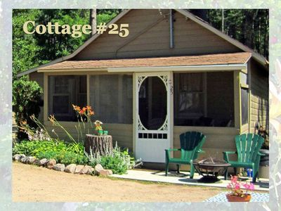 Photo for Sunbeam Bungalows 2 Bedroom Cottage (#25) - Callander, Ontario