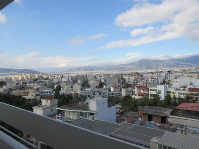 Photo for Apartment 785 m from the center of Metamorfosi with Internet, Air conditioning, Lift, Terrace (395631)