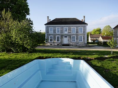 Photo for Chevigny, 14 people, private heated pool