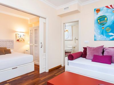 Photo for Apartment 351 m from the center of Barcelona with Internet, Air conditioning, Terrace, Washing machine (642492)