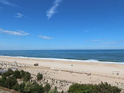 Photo for F609: 2BR+den Sea Colony oceanfront condo! Private beach, pools, tennis & more!