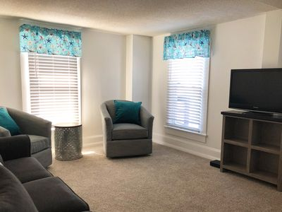 Photo for ** New ** - 18B Baltimore Avenue, 1/2 Blk to Beach and Boardwalk, Sleeps 6, In the Heart of Rehoboth Beach's Restaurant Row, Park & Relax