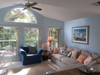 Photo for Tropical Environment Across the Street from the Beach -All Amenities Included