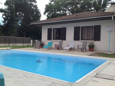 Photo for CLASSEE 3 * - Spacious single storey house 90m² for relaxation with SWIMMING POOL - 6 persons - AUREILHAN