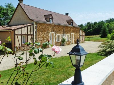 Photo for Saint-Julien-de-Crempse Holiday Home, Sleeps 12 with Pool, Air Con and Free WiFi
