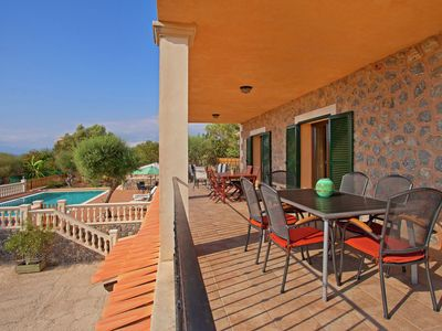 Photo for Very spacious villa with spectacular views and a large private swimming pool