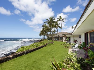 Photo for Nanea - Fabulous Oceanfront Elite Home with AC and expansive shoreline access