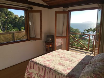 Photo for House with 2 suites with wonderful sea view at 80 mt. from the beach of Curral.