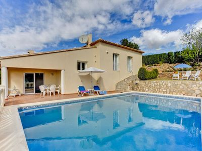 """Photo for A high quality, contemporary styled three bedroom family villa in the """"La Sella"""" area located betwee"""