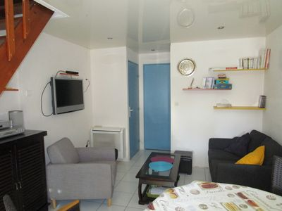 Photo for Rental house F3 FRONTIGNAN BEACH, 50m from the sea, good facilities