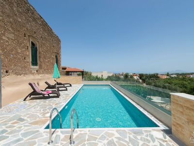 Photo for 3 bedroom Villa, sleeps 6 in Atsipopoulo with Pool, Air Con and WiFi