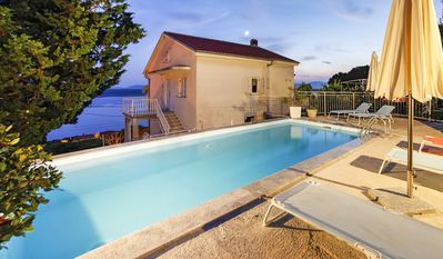 Photo for Villa Marija - Villa with pool and stunning views of the sea, garden