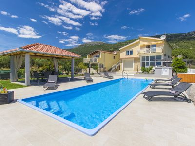 Photo for VILLA TISSA , with large swimming pool, jacuzzi, big garden, infrared sauna...