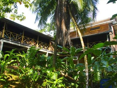 East Side of the Villa at Punta Rica