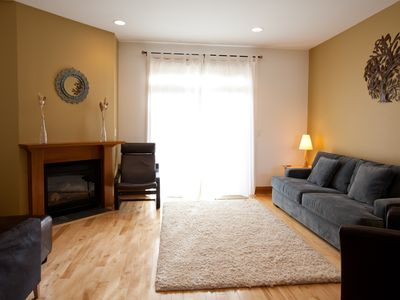 Photo for BROOKSIDE - This gorgeous townhome has a downtown location and tons of great features!