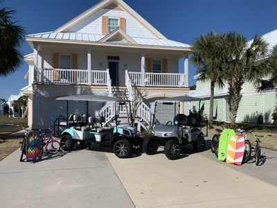 Surfside Beach 5 Bedrooms 4 5 Bath 2 Golf Carts Bikes Chairs And