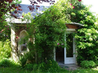 Photo for Small independent cottage in Normandy property of the 19th