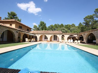 Photo for LA TOSCANE 2BR AND 2 BATH IN QUIET RURAL PROVENCE  WITH PRIVATE POOL (SLEEPS 4)