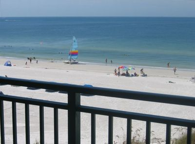 WOW! This is your view from the large balcony. Does it get any better?