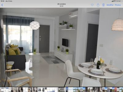 Photo for New luxury apartment, 4 people, air conditioning and seaside