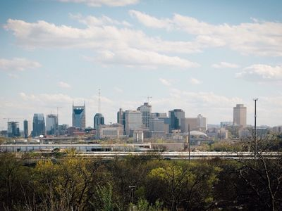 Photo for New 2 bedroom townhouse in Nashville with Panoramic Skyline views