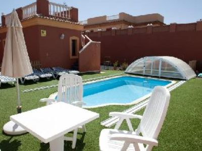 Photo for Luxury villa with heated pool,situated in a very peaceful and strategic place