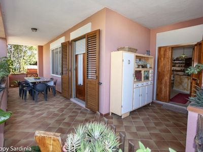 Photo for Comfortable Chalet a few meters from the beach with veranda