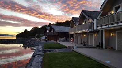 Photo for Modern holiday home at Ålesund, directly at the fjord with a great view