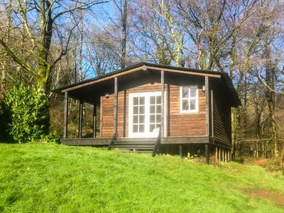 Photo for LAKESIDE CABIN, with a garden in Sheldon, Ref 928393