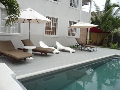 Photo for Palm Villa apartment with pool 2