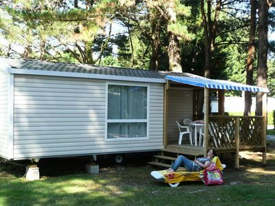 Photo for Camping Le Domaine d'Inly ***** - Mobile Home 3 Rooms 5/6 People