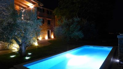 Photo for Villa with private pool in Zamask, central Istria, 7 people, great for families