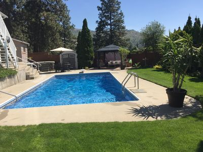 Photo for Pool, Hot Tub And Mountain Views, Relax And Enjoy Living The Okanagan Dream