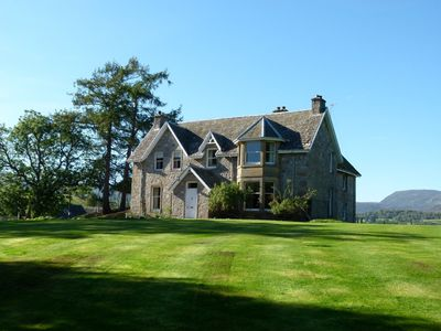 Photo for Spacious pet friendly 5-bedroom farmhouse set in the beautiful Cairngorm Mountains