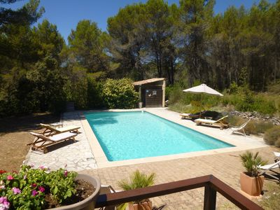 Photo for Studio 26 m2 with swimming pool in pine forest for 4 people, Aix en pce
