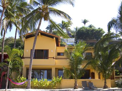Photo for On The Beach ,Pool, 5BR, Sleeps 10, With Cook - Casa Linda