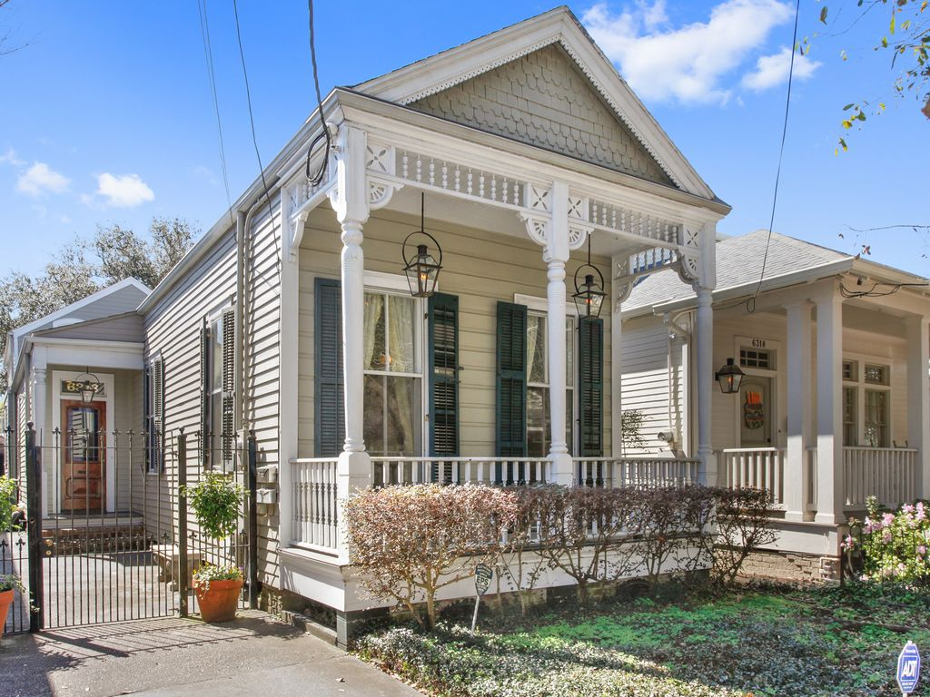 Charming new orleans cottage steps from audubon park and - 1 bedroom houses for rent in new orleans ...