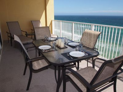 Photo for Highly Rated, Gorgeous, Gulf Front, Tropic Winds Condo, Free Beach Service!